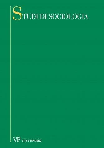 In occasione della traduzione italiana di fads and foibles in modern sociology di P. A. Sorokin
