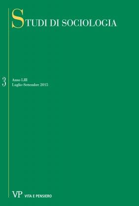 STUDI DI SOCIOLOGIA - 2015 - 3