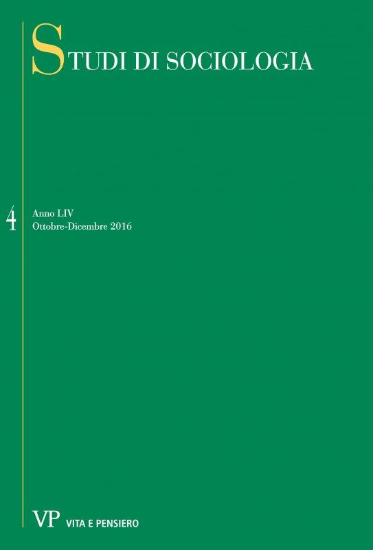STUDI DI SOCIOLOGIA - 2016 - 4