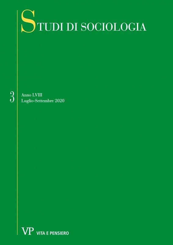 STUDI DI SOCIOLOGIA - 2020 - 3