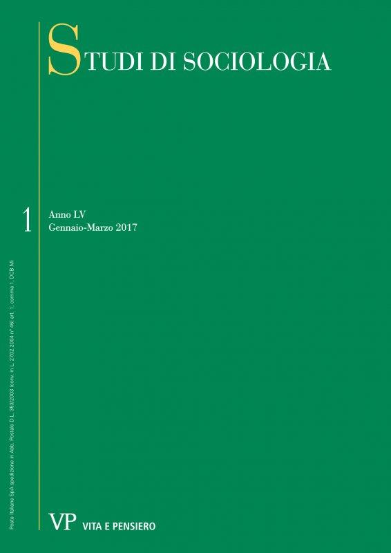 STUDI DI SOCIOLOGIA. Abbonamento annuale 2018