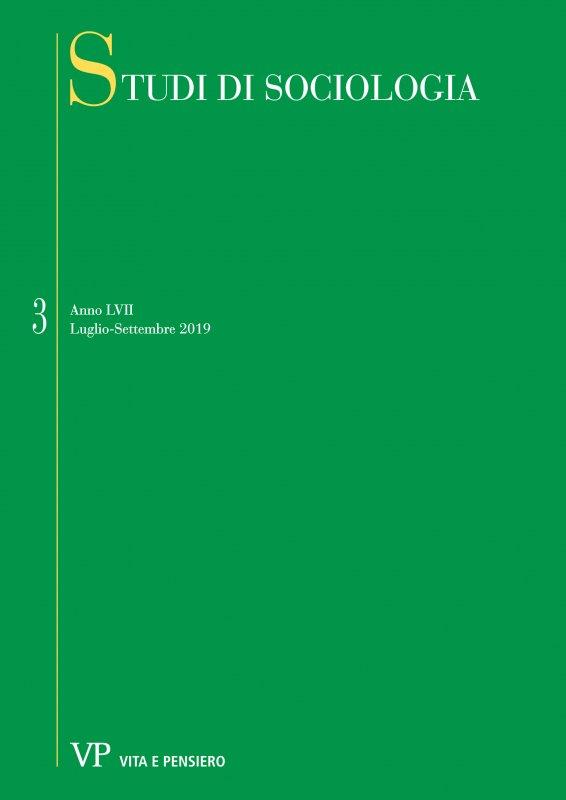 STUDI DI SOCIOLOGIA. Abbonamento annuale 2020
